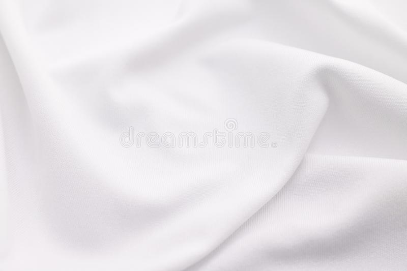 White fabric texture background. Abstract cloth material. Texture royalty free stock photos
