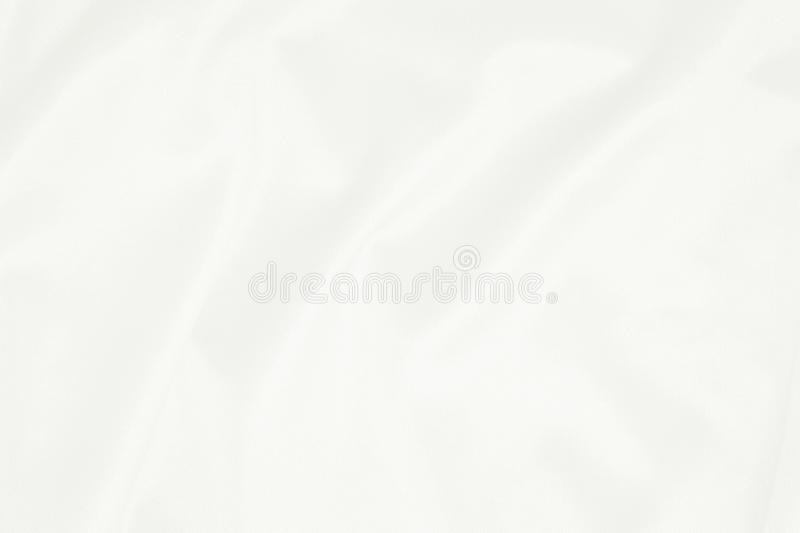 White fabric texture for background, beautiful pattern of silk or linen.  royalty free stock photos