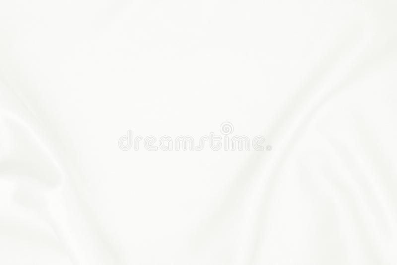 White fabric texture for background, beautiful pattern of silk or linen.  stock photos