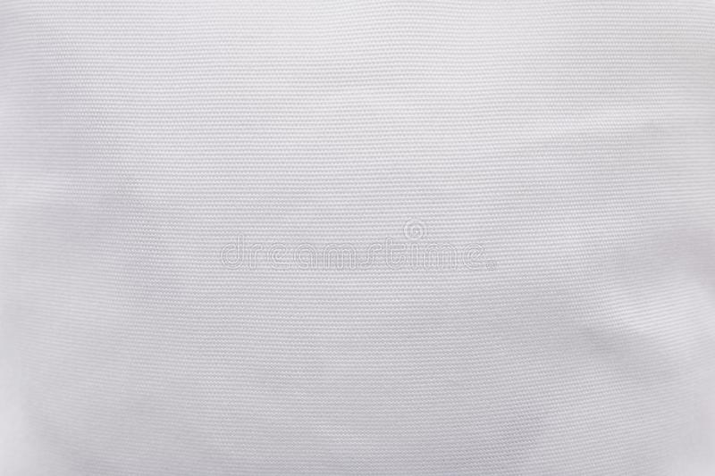 White fabric texture background. Blank cloth textile material pattern. Texture royalty free stock photos