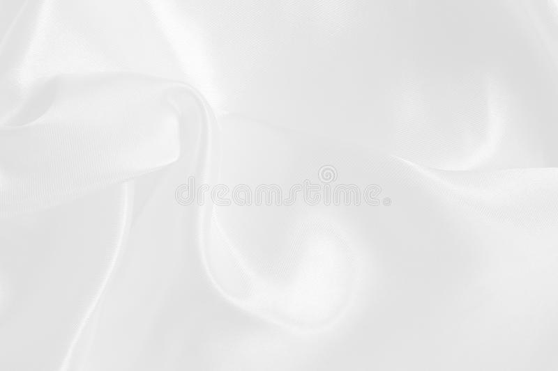 White fabric texture for background and design, beautiful pattern of silk or linen stock photos