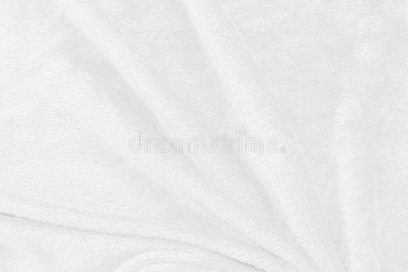 White fabric texture for wallpaper stock photo