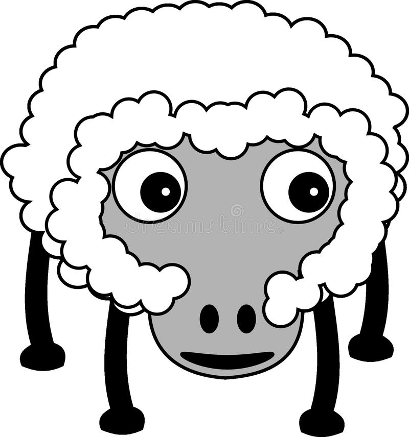 White, Face, Black And White, Nose royalty free stock photo