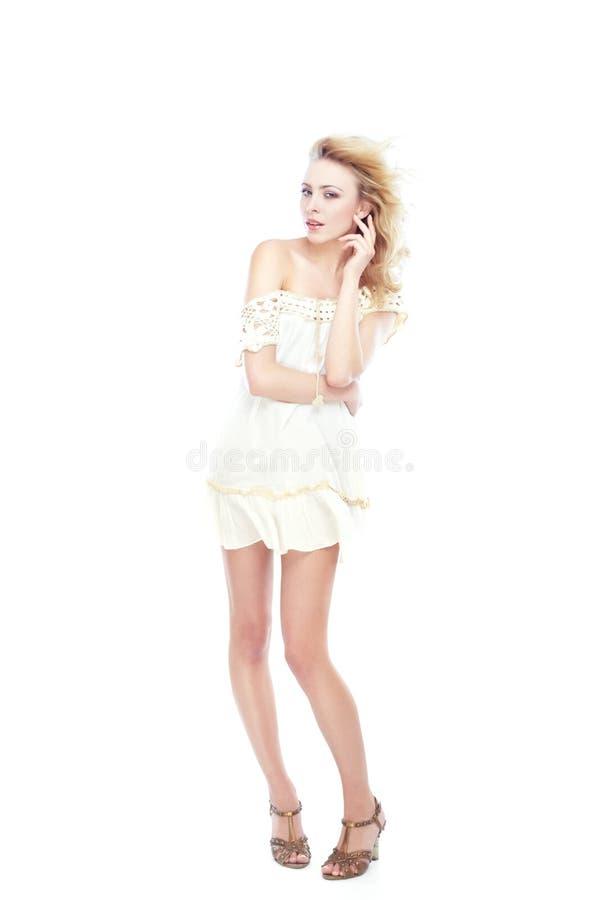 White fashion royalty free stock photos