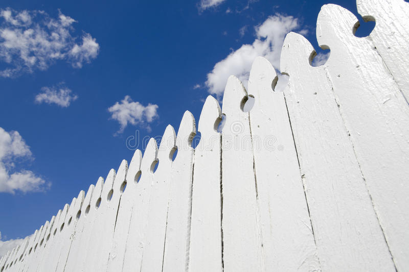 Download White fence stock image. Image of nature, protect, nobody - 19025979