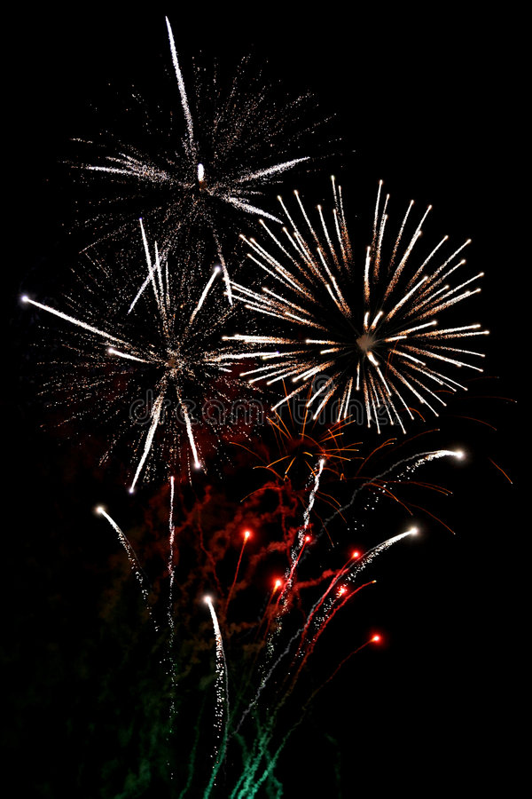 Download White finale fireworks stock image. Image of background - 2917549
