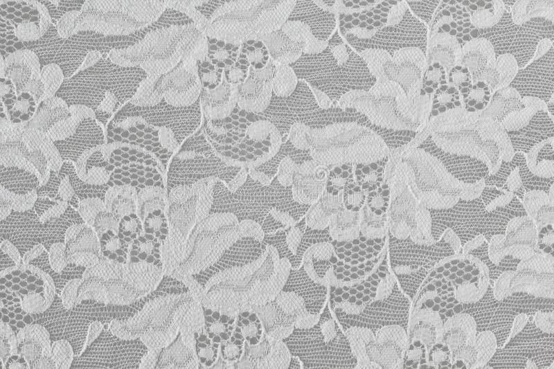 White Floral Lace. Texture as textile background royalty free stock photography