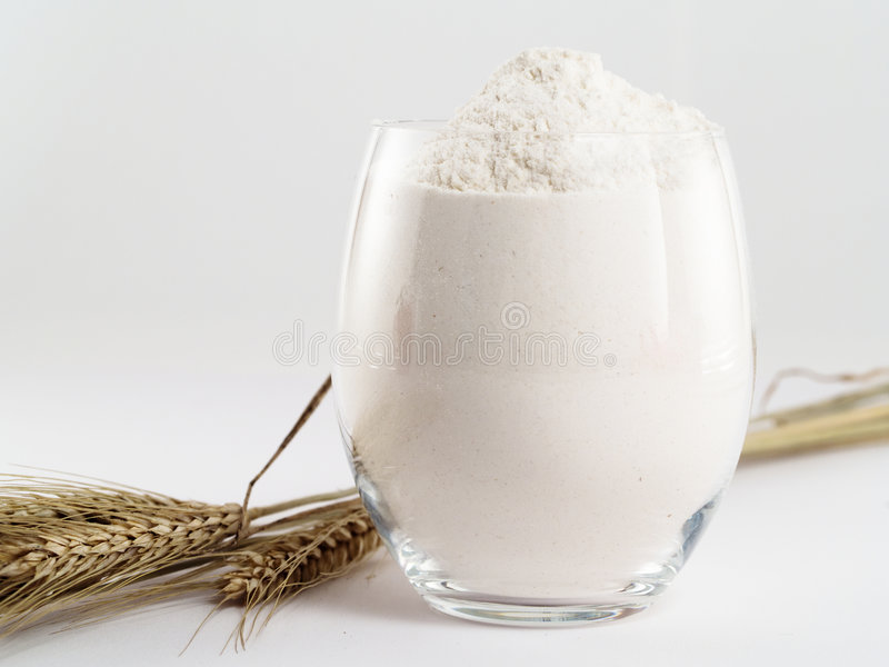 White flour royalty free stock photos
