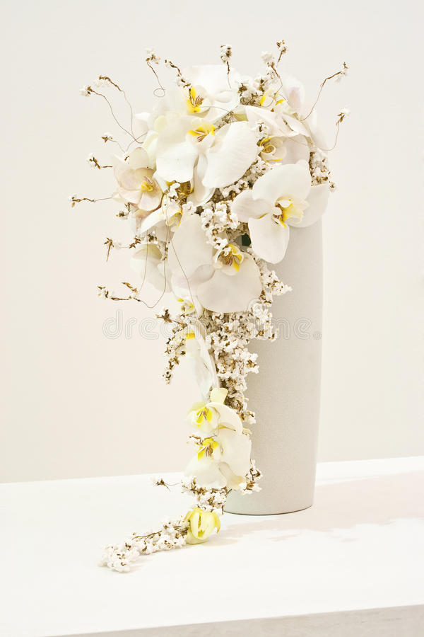 Download White Flower Arrangement For Wedding Bouquet Stock Photo - Image: 23941296