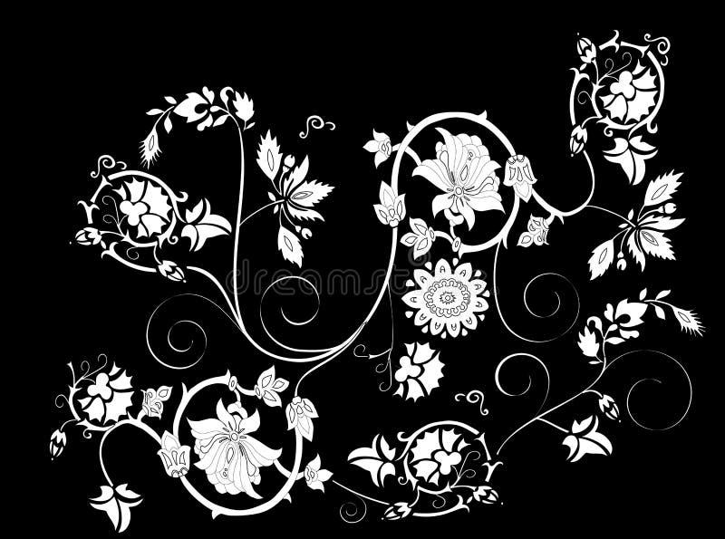 fancy black background