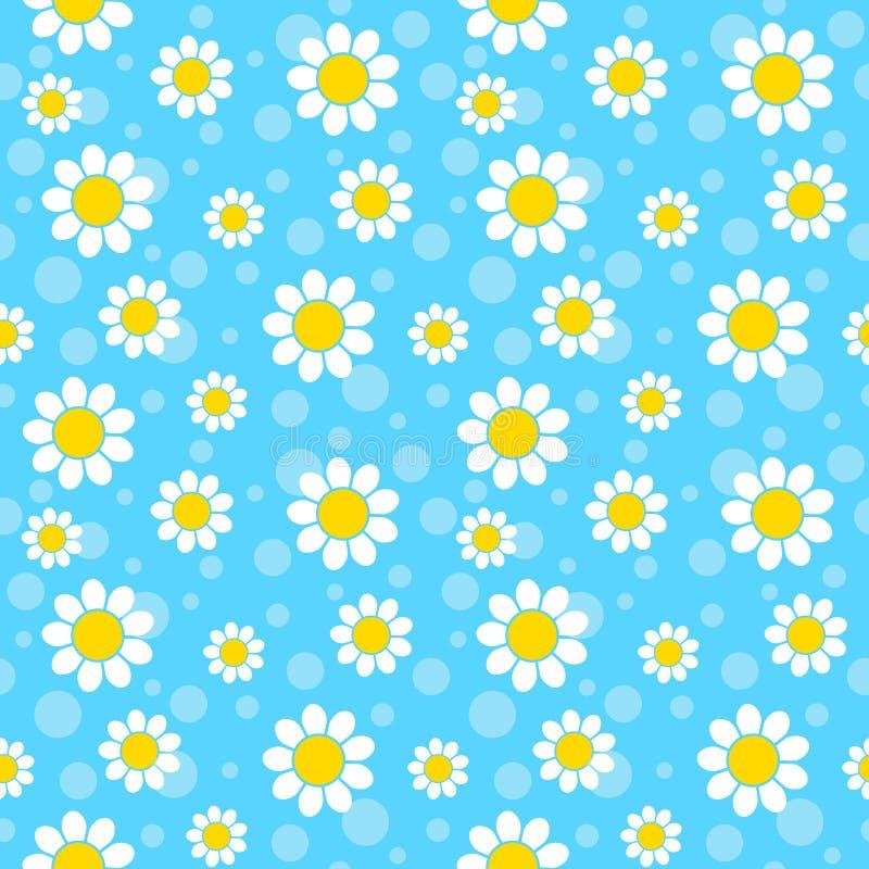 White flowers royalty free illustration