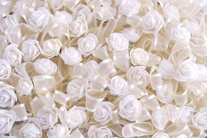 White flowers background stock images