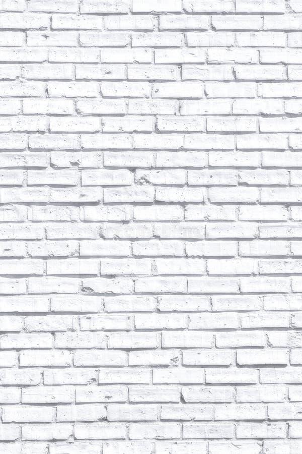 White fogy brick wall stock photo