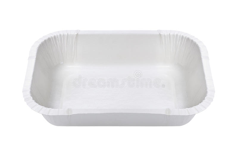 Download White Food Tray stock image. Image of background, rectangle - 28563231