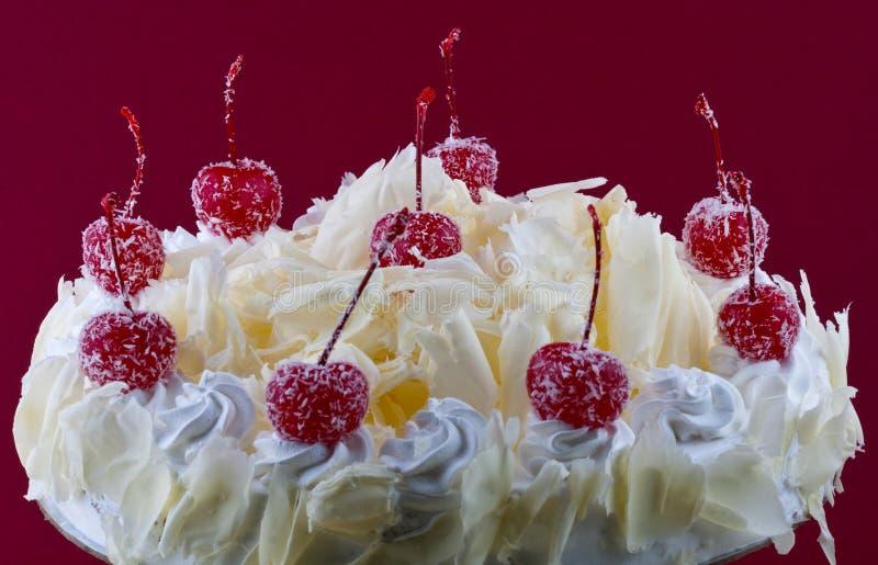 White Forest Cake Stock Image Image Of Cake Chocolate