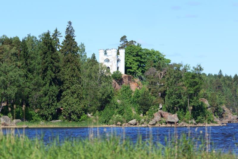 White fortress royalty free stock photo