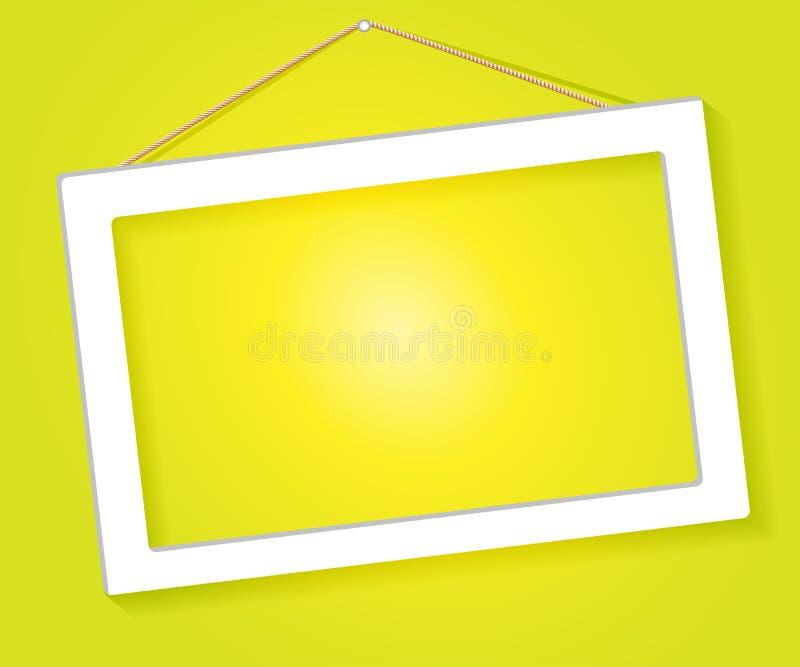 White Frame Royalty Free Stock Photos