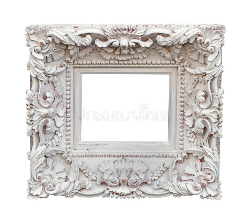 White frame stock photography