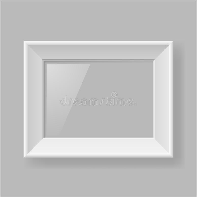 Download White frame stock vector. Image of corner, exhibition - 27425719