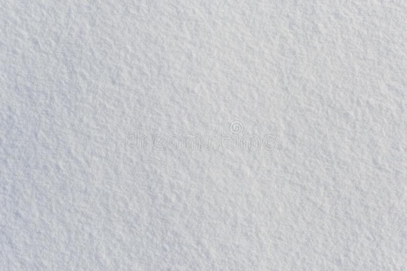 White fresh frosty snow texture top view stock images