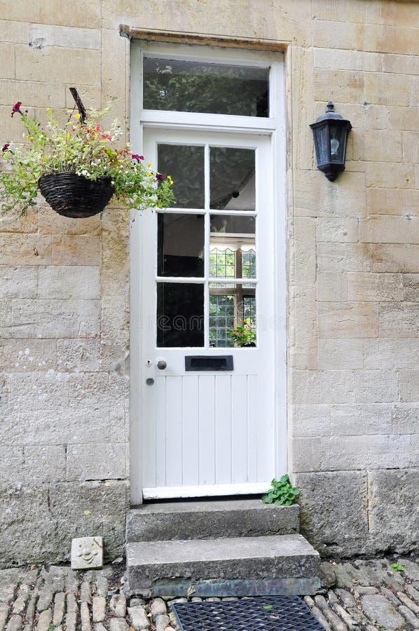 Download White Front Door stock photo. Image of doors, boutique - 22826212