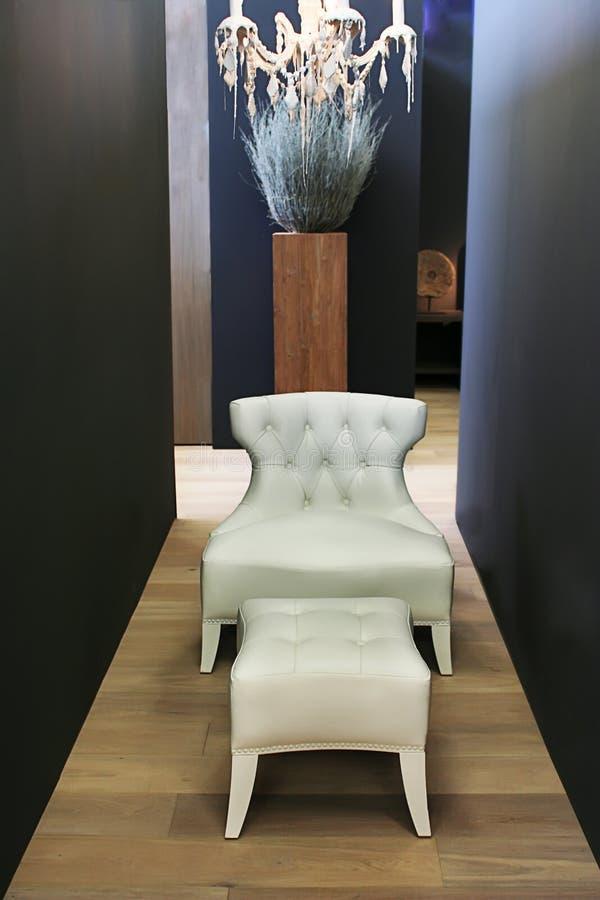 White furniture royalty free stock photos