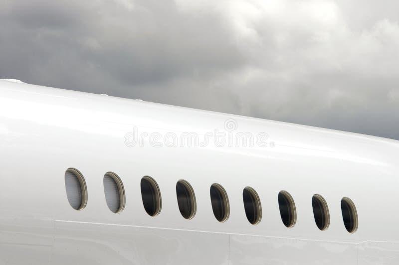 Download White Fuselage Royalty Free Stock Image - Image: 1540486