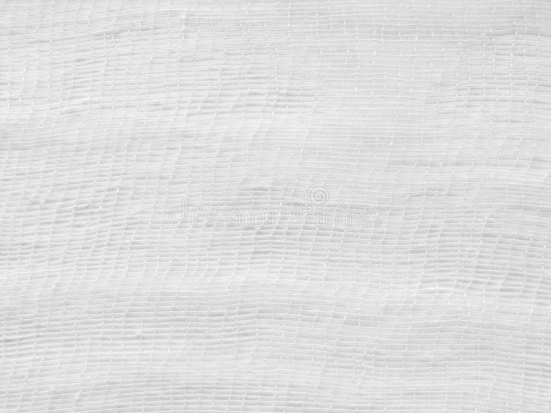 White gauze stock photography
