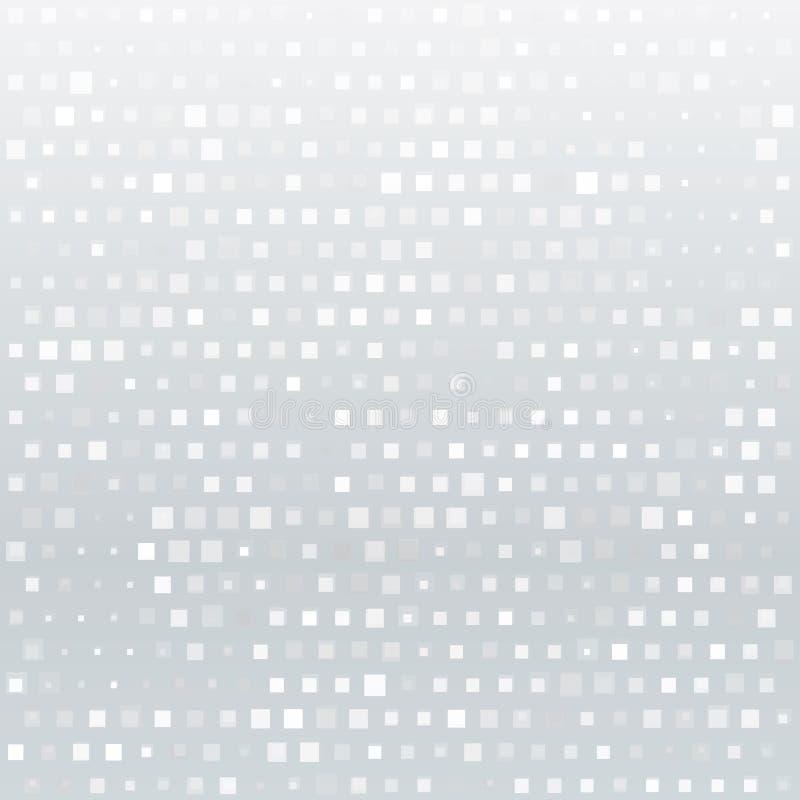 White geometric background. stock illustration