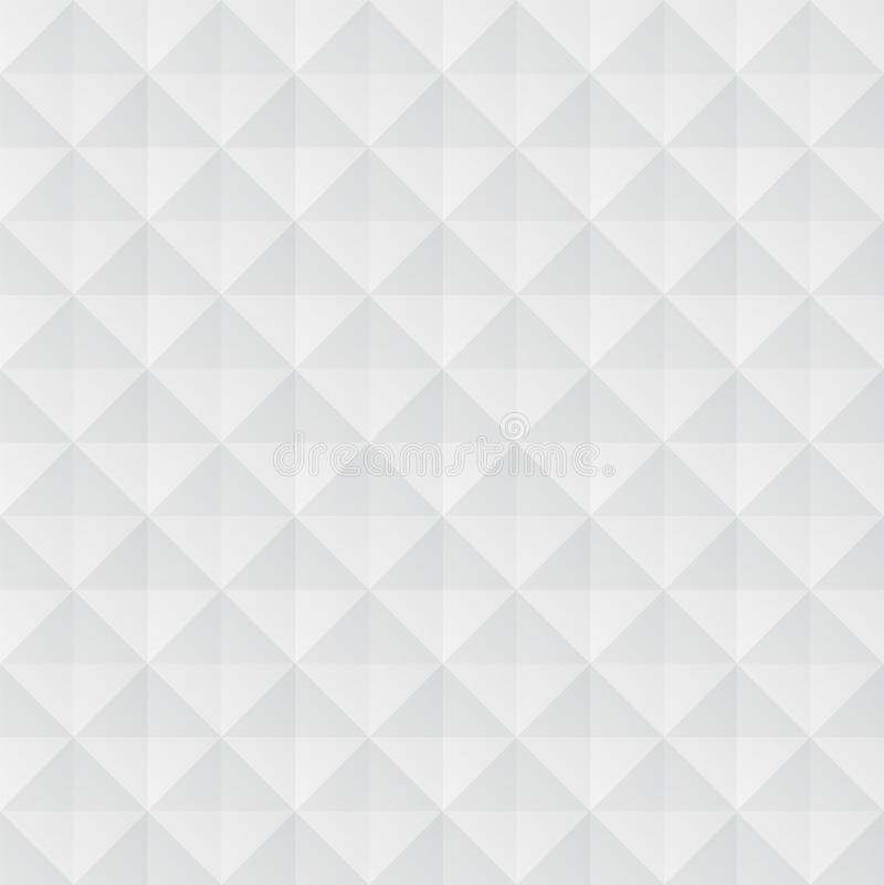 White geometric pattern vector illustration