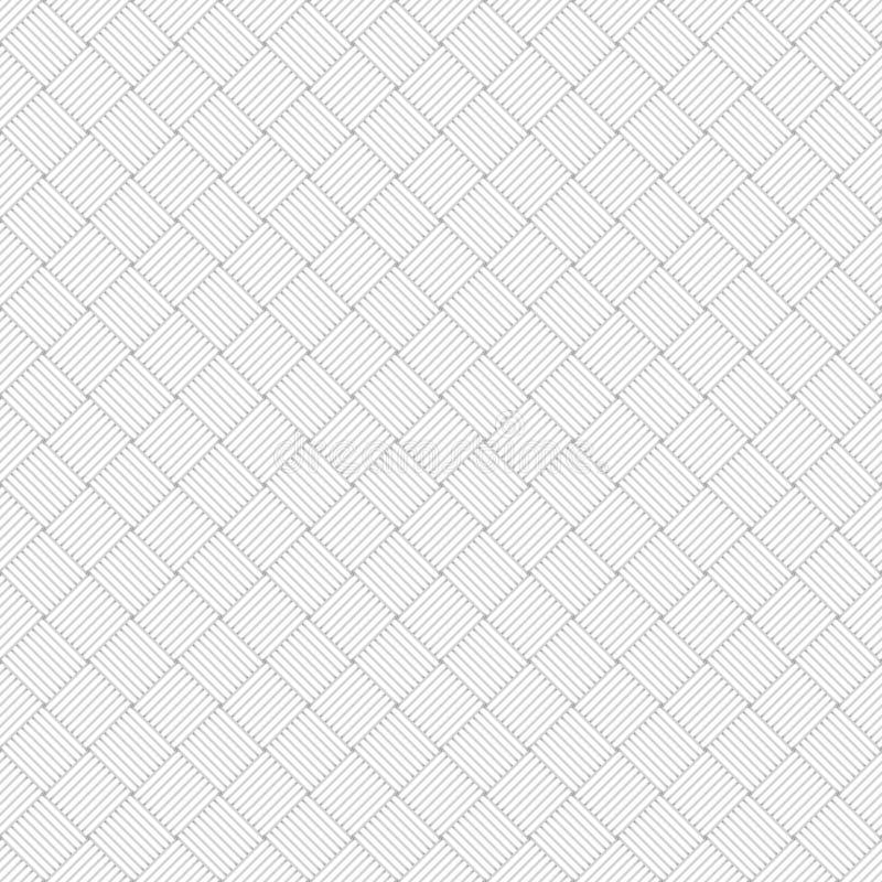 White geometric texture - seamless. White wicker geometric texture - seamless vectro background vector illustration