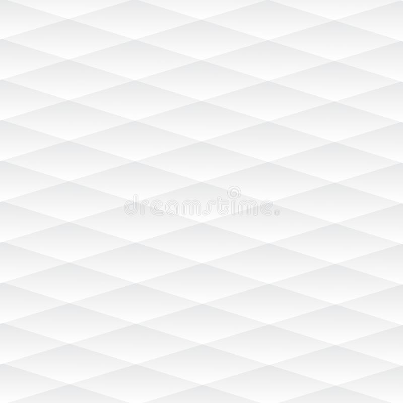 White geometric texture. Vector background royalty free illustration