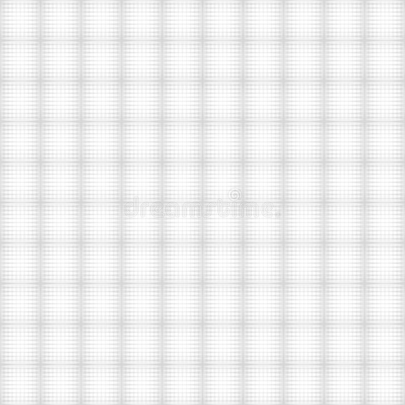White geometric texture. Vector seamless background royalty free illustration