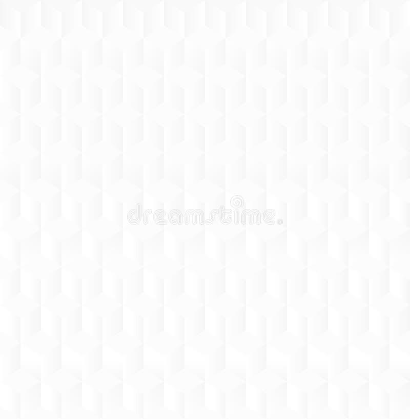 White geometric texture royalty free illustration