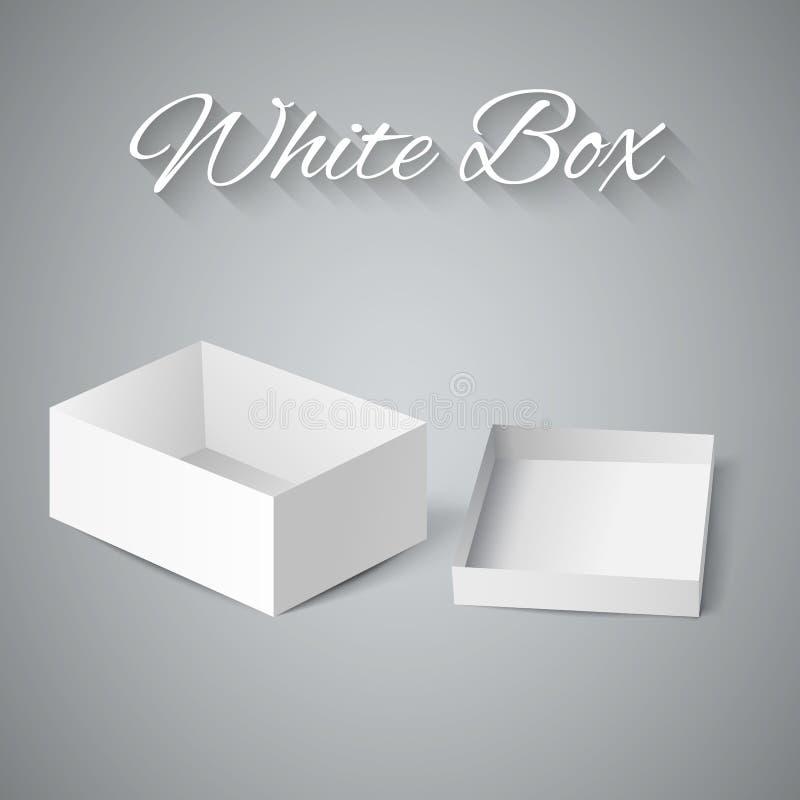 Free White Gift Carton Box Royalty Free Stock Photo - 45379695