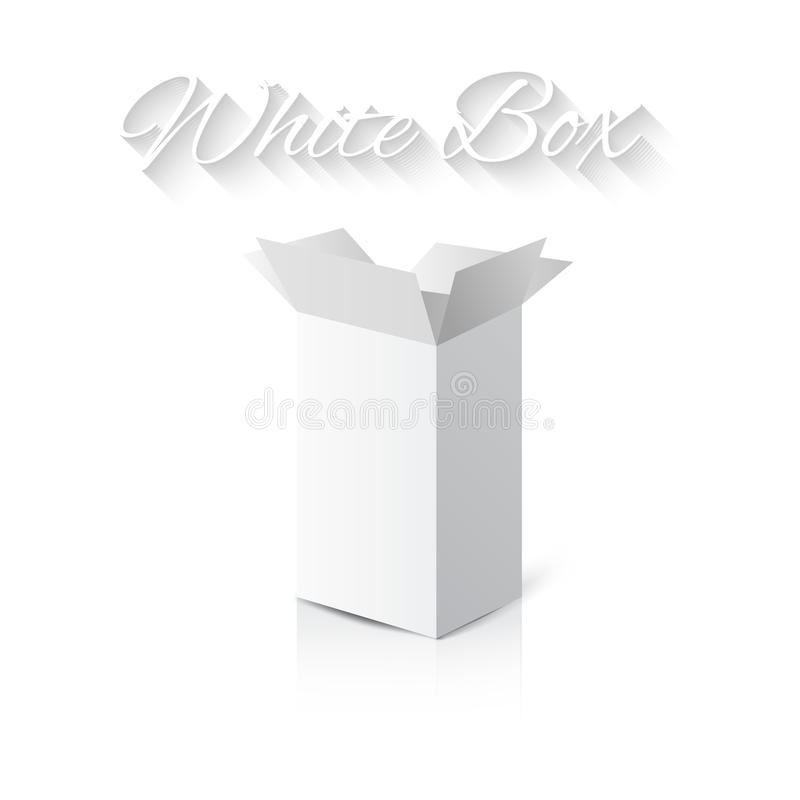 Free White Gift Carton Box Stock Images - 45880064