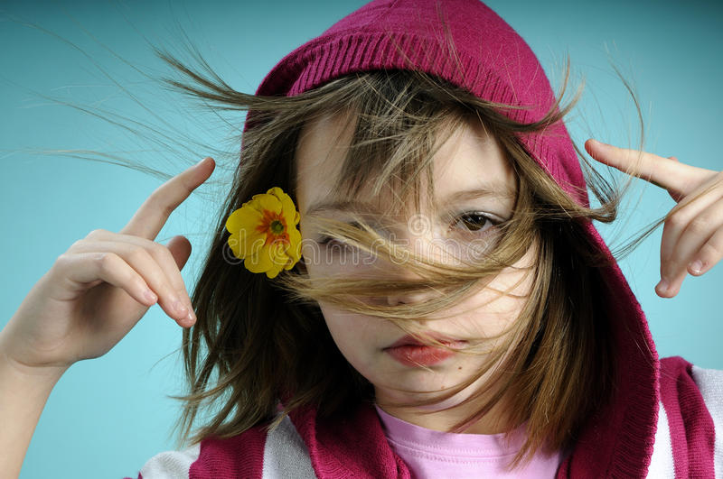 Download White girl feeling spring stock photo. Image of hairstyle - 13270338