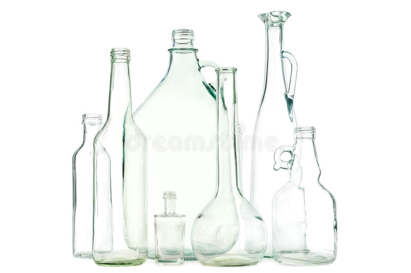 Download White glass bottles stock photo. Image of background - 32551852