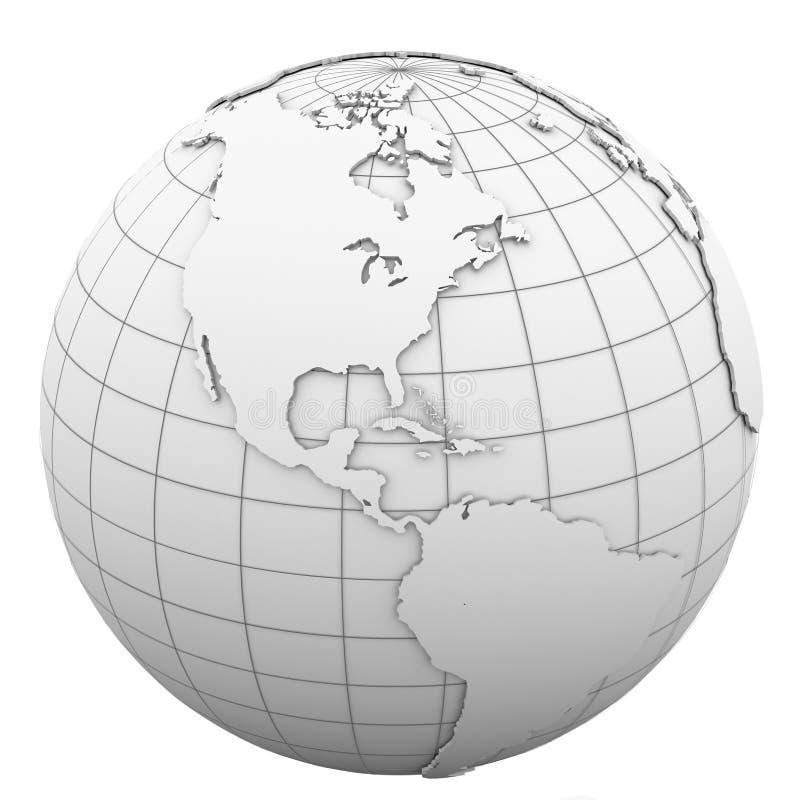 Download White Globe Royalty Free Stock Photos - Image: 30406628