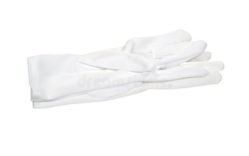 White Gloves stock photo