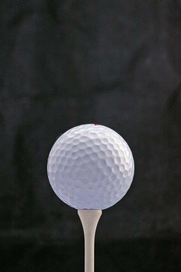 Free White Golf Ball On White Tee Stock Image - 981731