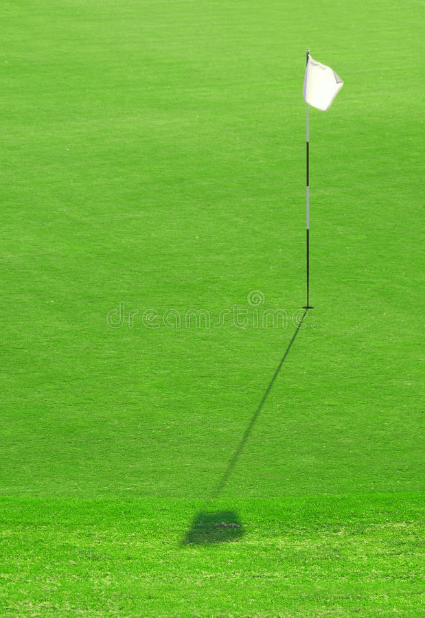 Download White Golf Flag Hole stock photo. Image of putting, leisure - 19659170