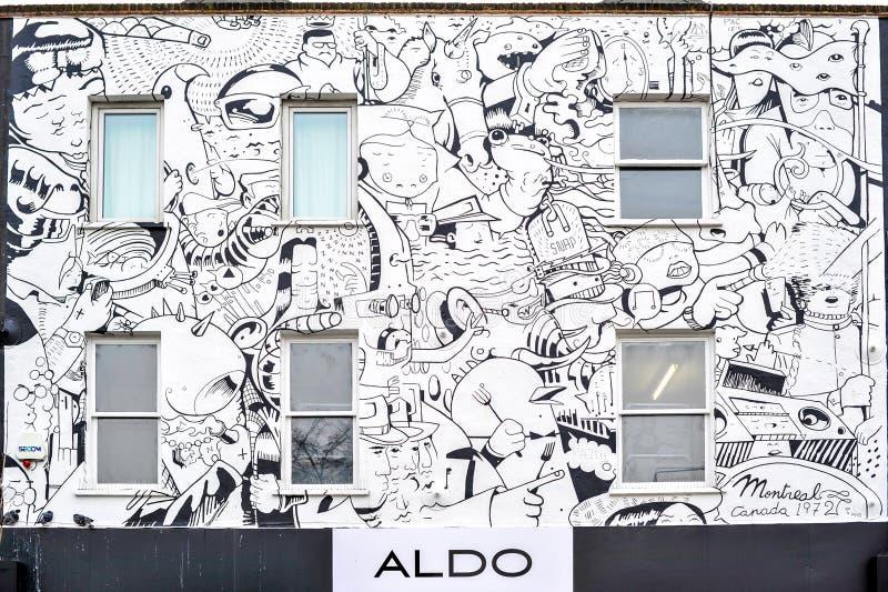Download White Graffitti Building ALDO In Camden Editorial Photography - Image: 37373467