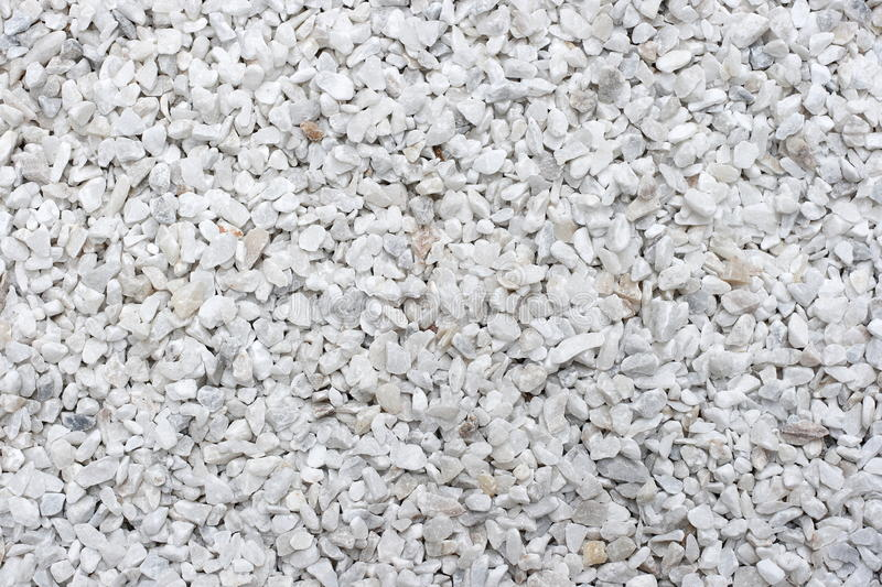 White Gravel royalty free stock photo