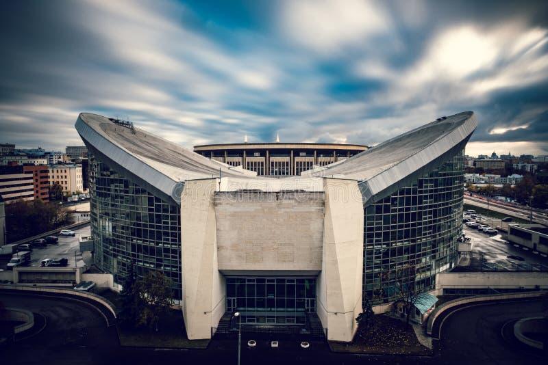 White And Gray Concrete Stadium Free Public Domain Cc0 Image