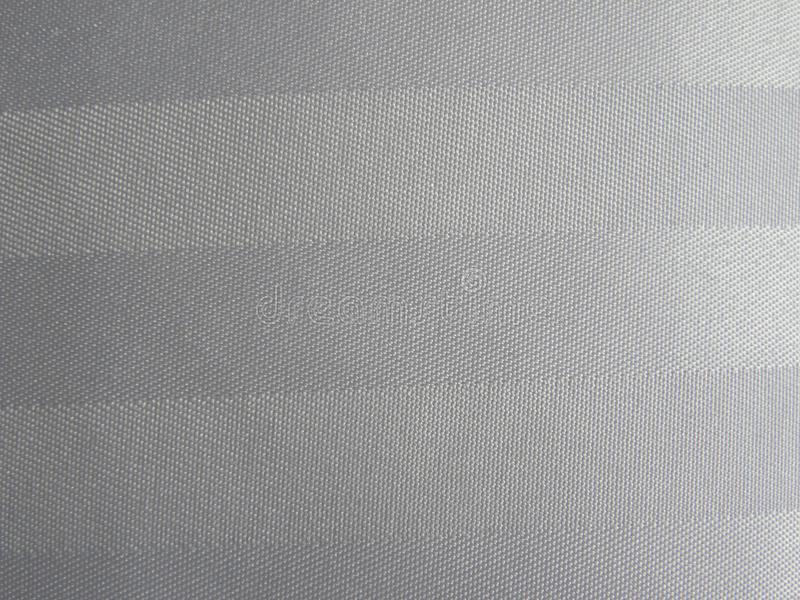 White and gray cotton fabric background stock image