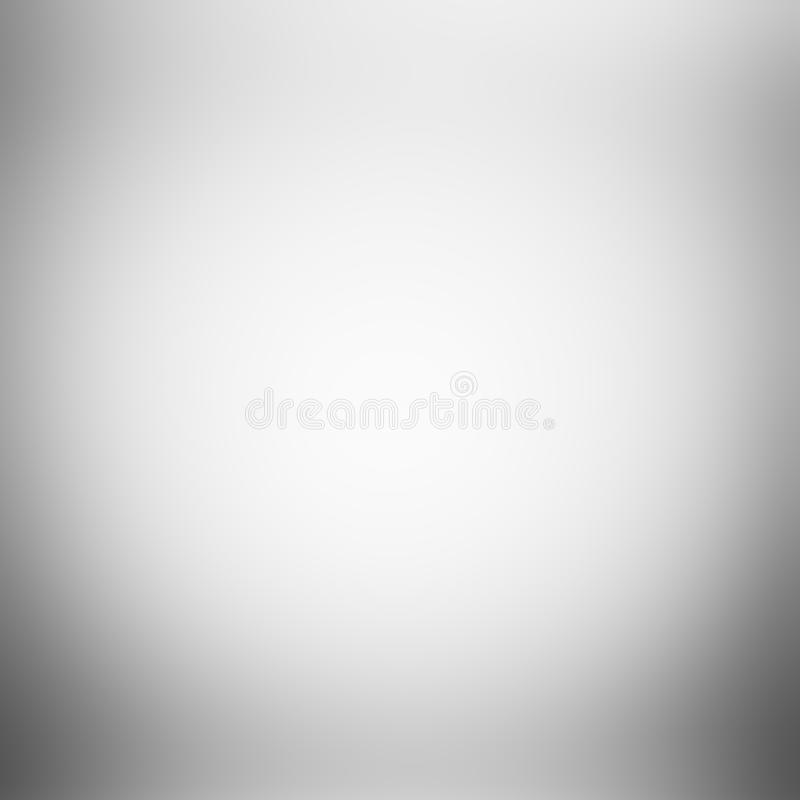 White gray gradient abstract background royalty free illustration
