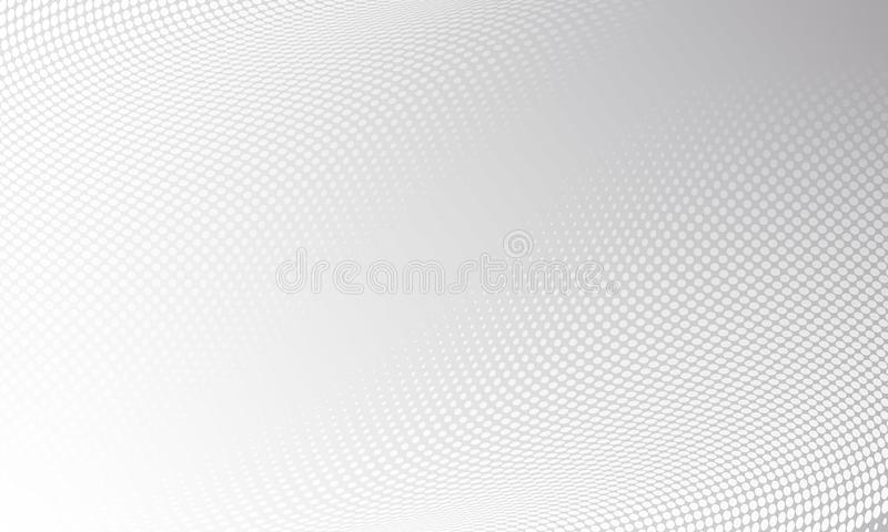 Halftone Pattern Vector Dot Gradient Background Stock Vector