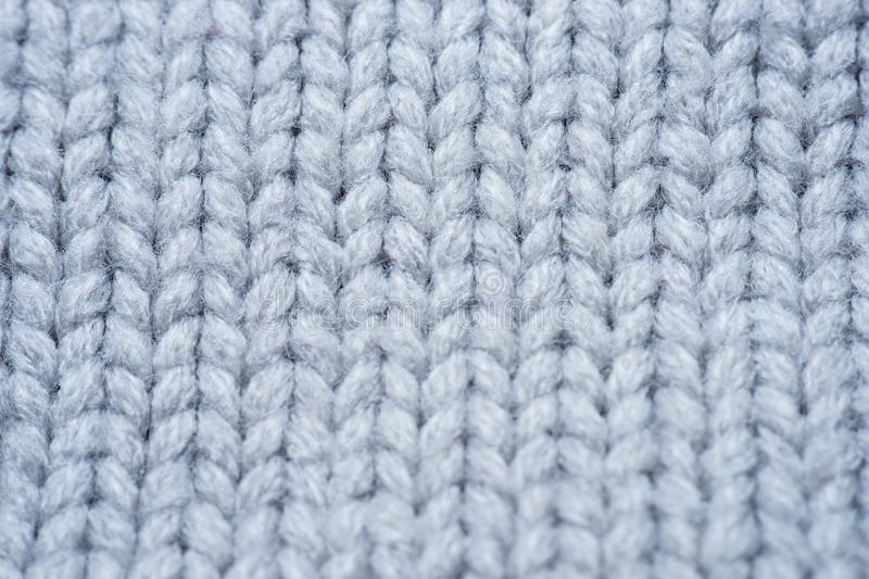 White and gray realistic knit texture seamless pattern. background for banner, site, card, wallpaper. Macro stock photos