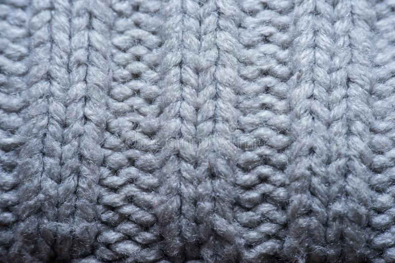 White and gray realistic knit texture seamless pattern. background for banner, site, card, wallpaper. Macro royalty free stock images